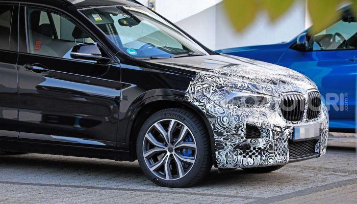 Nuova BMW X1, proseguono i test della futura generazione - Foto 12 di 24