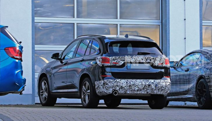 Nuova BMW X1, proseguono i test della futura generazione - Foto 18 di 24