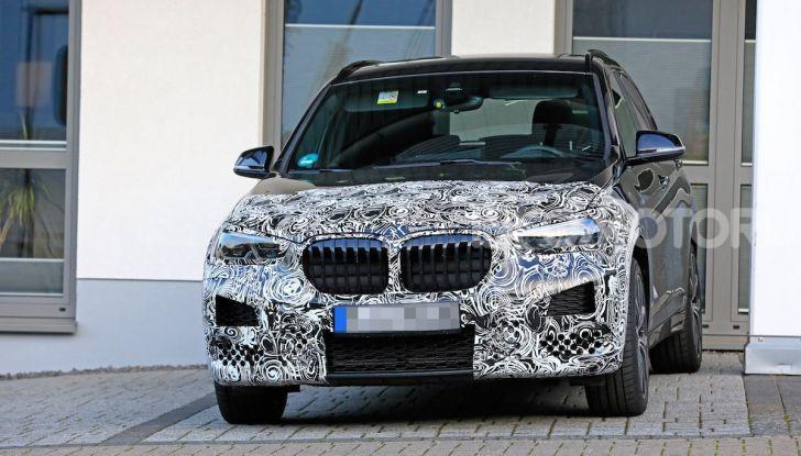 Nuova BMW X1, proseguono i test della futura generazione - Foto 19 di 24