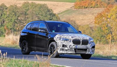 Nuova BMW X1, proseguono i test della futura generazione