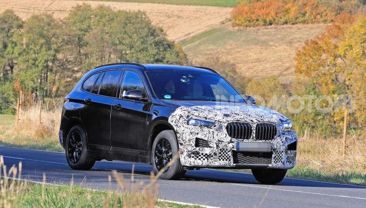 Nuova BMW X1, proseguono i test della futura generazione - Foto 5 di 24