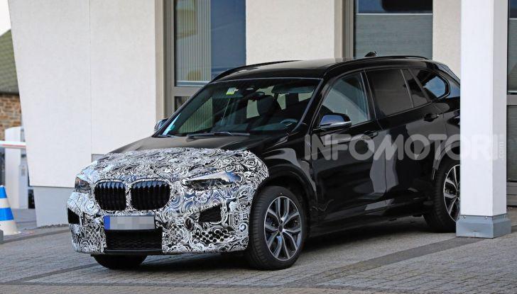 Nuova BMW X1, proseguono i test della futura generazione - Foto 20 di 24