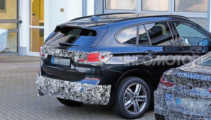 Nuova BMW X1, proseguono i test della futura generazione - Foto 21 di 24