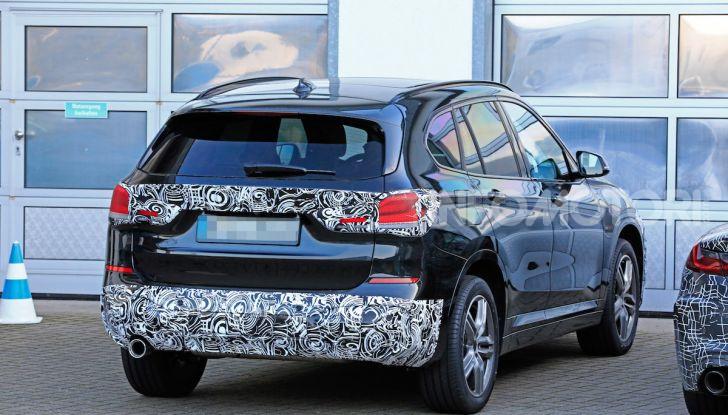 Nuova BMW X1, proseguono i test della futura generazione - Foto 22 di 24