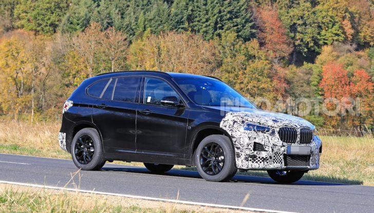 Nuova BMW X1, proseguono i test della futura generazione - Foto 1 di 24
