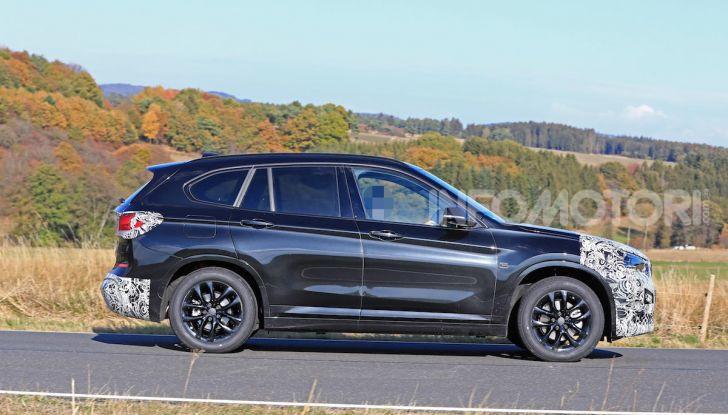 Nuova BMW X1, proseguono i test della futura generazione - Foto 6 di 24