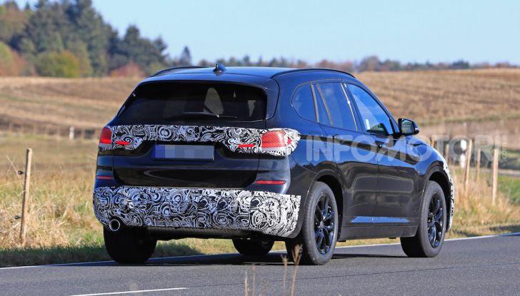 Nuova BMW X1, proseguono i test della futura generazione - Foto 7 di 24
