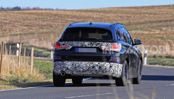 Nuova BMW X1, proseguono i test della futura generazione - Foto 8 di 24