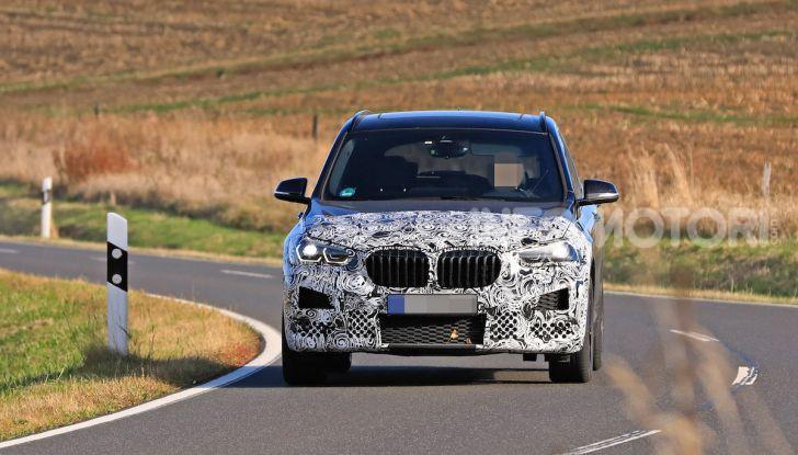 Nuova BMW X1, proseguono i test della futura generazione - Foto 10 di 24