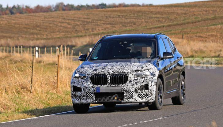 Nuova BMW X1, proseguono i test della futura generazione - Foto 11 di 24
