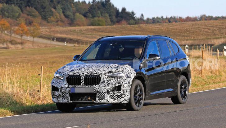 Nuova BMW X1, proseguono i test della futura generazione - Foto 2 di 24