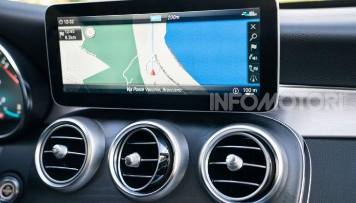 Nuova Mercedes Classe C prova su strada e dati tecnici - Foto 11 di 12