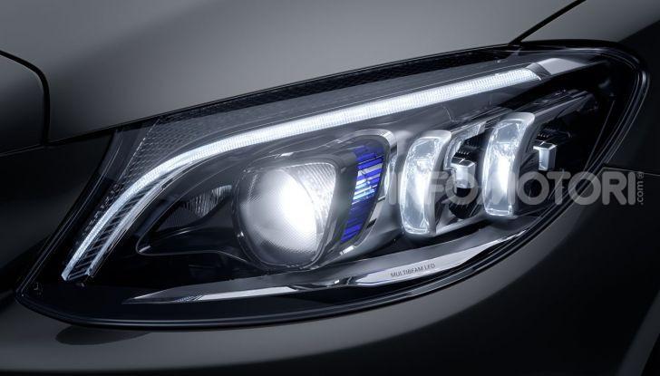 Nuova Mercedes Classe C prova su strada e dati tecnici - Foto 12 di 12