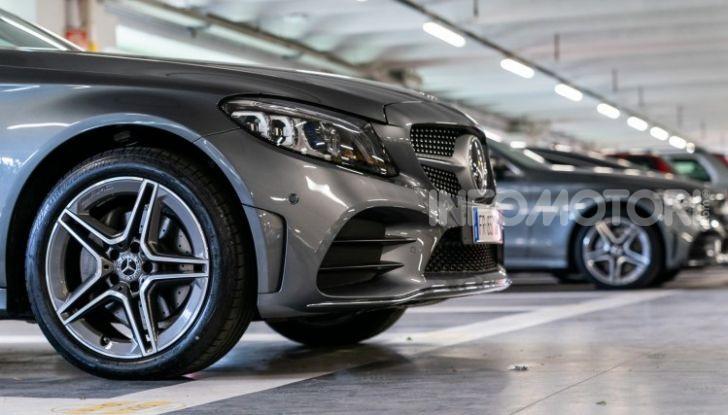Nuova Mercedes Classe C prova su strada e dati tecnici - Foto 3 di 12