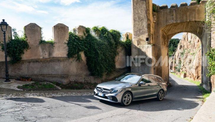 Nuova Mercedes Classe C prova su strada e dati tecnici - Foto 5 di 12