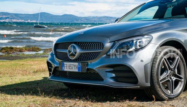 Nuova Mercedes Classe C prova su strada e dati tecnici - Foto 8 di 12