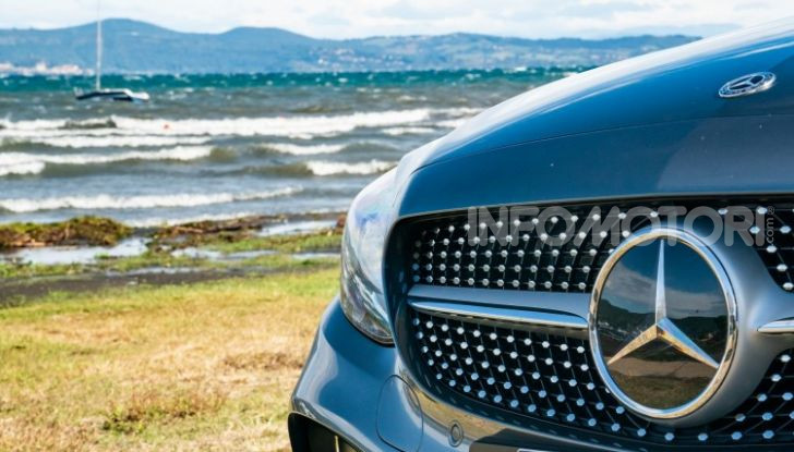Nuova Mercedes Classe C prova su strada e dati tecnici - Foto 9 di 12