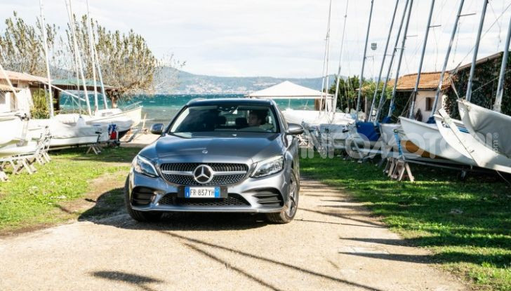 Nuova Mercedes Classe C prova su strada e dati tecnici - Foto 10 di 12