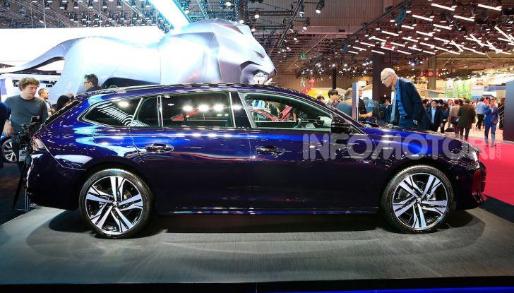 Nuova Peugeot 508 SW, la rinnovata station wagon di segmento D - Foto 4 di 12