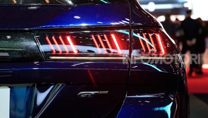 Nuova Peugeot 508 SW, la rinnovata station wagon di segmento D - Foto 6 di 12