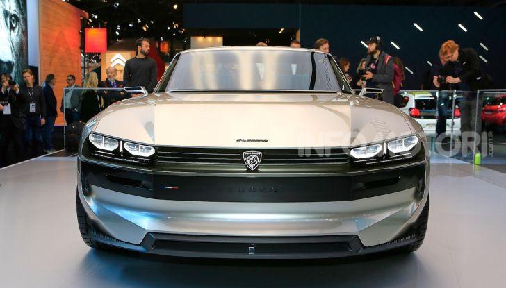 Peugeot e-Legend Concept, l'elettrica a guida autonoma del futuro - Foto 3 di 16
