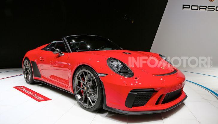 Porsche 911 Speedster: il ritorno di un mito per il 70° anniversario - Foto 4 di 18