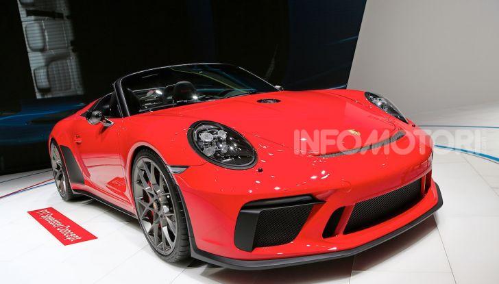 Porsche 911 Speedster: il ritorno di un mito per il 70° anniversario - Foto 3 di 18
