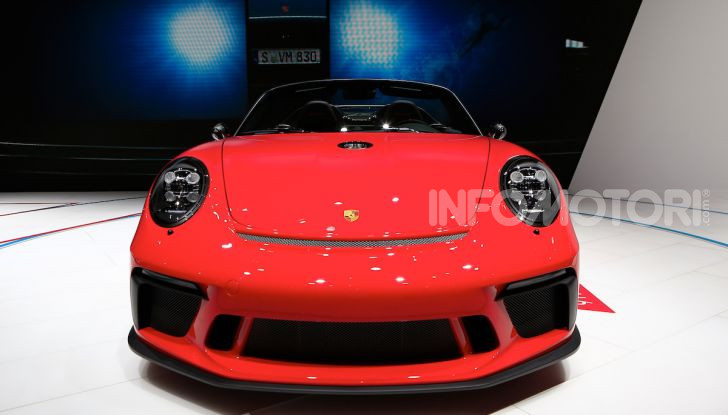Porsche 911 Speedster: il ritorno di un mito per il 70° anniversario - Foto 14 di 18