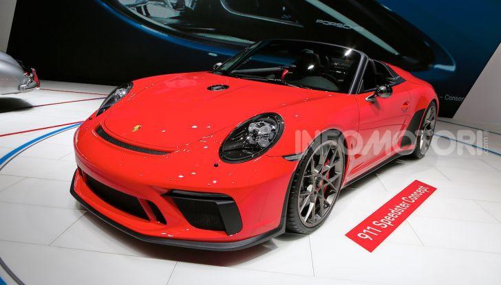 Porsche 911 Speedster: il ritorno di un mito per il 70° anniversario - Foto 1 di 18