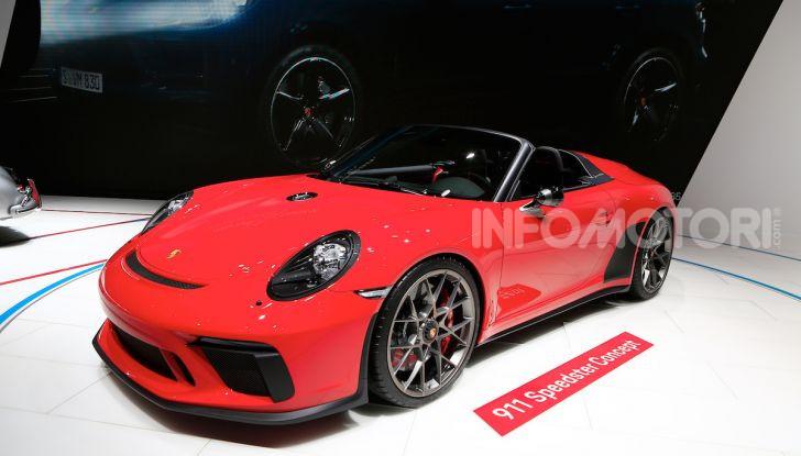 Porsche 911 Speedster: il ritorno di un mito per il 70° anniversario - Foto 15 di 18