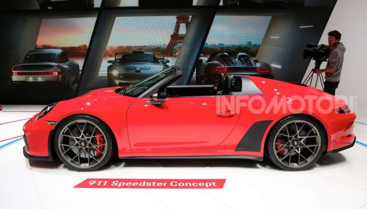 Porsche 911 Speedster: il ritorno di un mito per il 70° anniversario - Foto 16 di 18