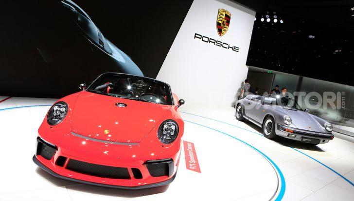 Porsche 911 Speedster: il ritorno di un mito per il 70° anniversario - Foto 17 di 18