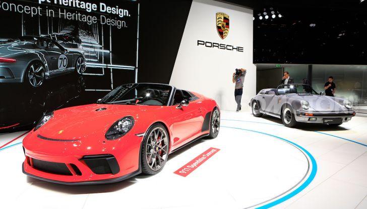 Porsche 911 Speedster: il ritorno di un mito per il 70° anniversario - Foto 2 di 18