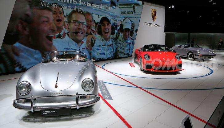 Porsche 911 Speedster: il ritorno di un mito per il 70° anniversario - Foto 18 di 18