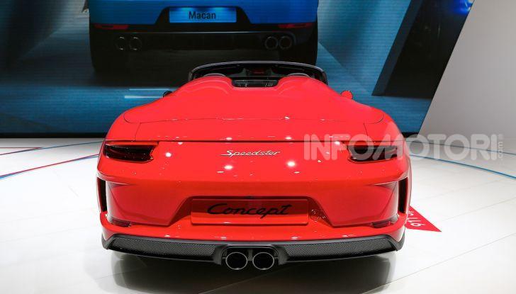 Porsche 911 Speedster: il ritorno di un mito per il 70° anniversario - Foto 7 di 18