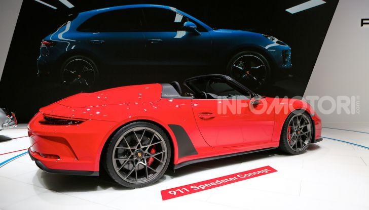 Porsche 911 Speedster: il ritorno di un mito per il 70° anniversario - Foto 9 di 18