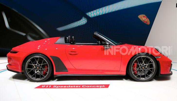 Porsche 911 Speedster: il ritorno di un mito per il 70° anniversario - Foto 10 di 18