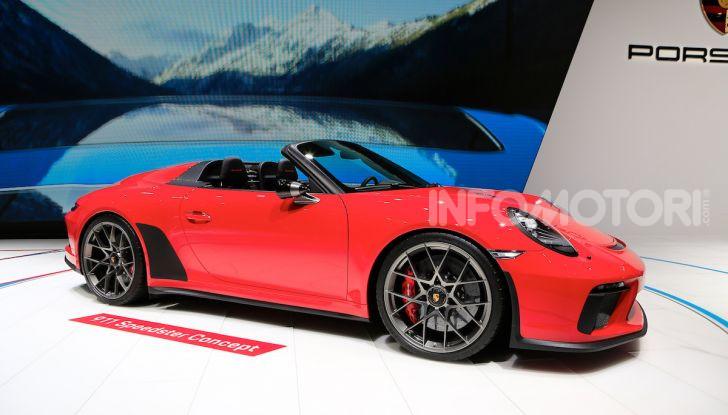 Porsche 911 Speedster: il ritorno di un mito per il 70° anniversario - Foto 11 di 18