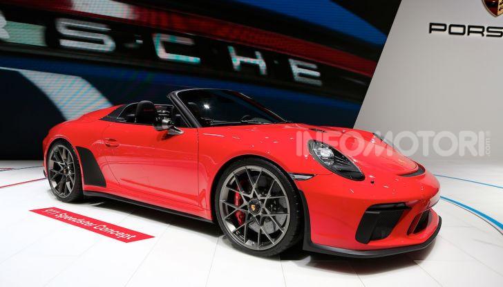Porsche 911 Speedster: il ritorno di un mito per il 70° anniversario - Foto 12 di 18