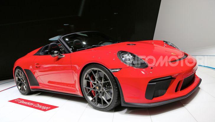 Porsche 911 Speedster: il ritorno di un mito per il 70° anniversario - Foto 13 di 18