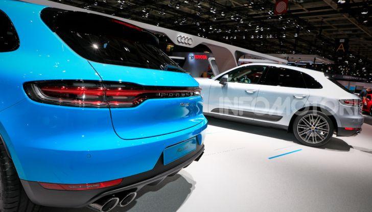 Nuova Porsche Macan: tempo di restyling per il SUV tedesco - Foto 10 di 22