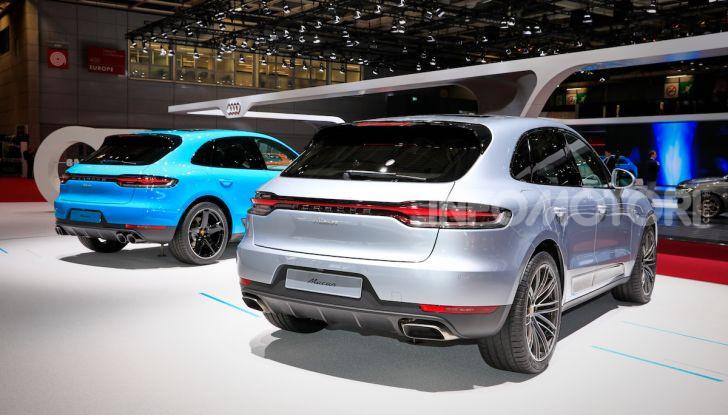 Nuova Porsche Macan: tempo di restyling per il SUV tedesco - Foto 11 di 22