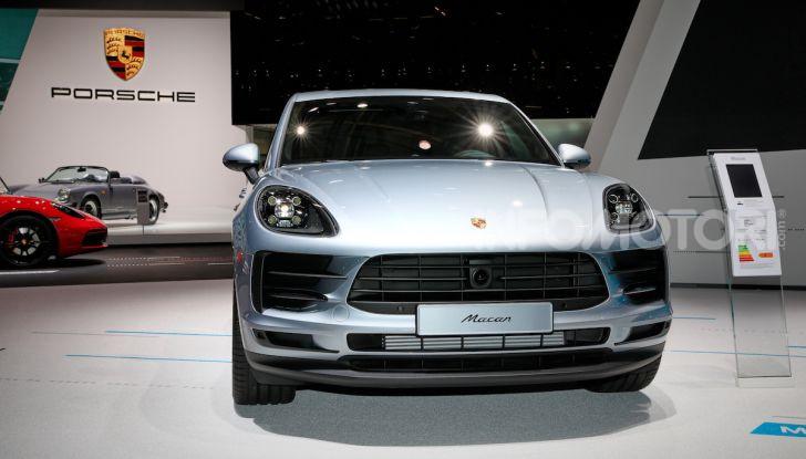 Porsche Macan 2019 arriva negli USA al Salone di Los Angeles - Foto 17 di 22