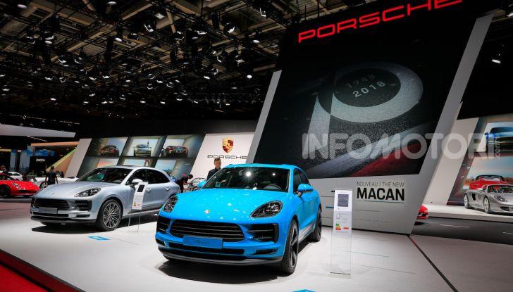 Porsche Macan 2019 arriva negli USA al Salone di Los Angeles - Foto 5 di 22