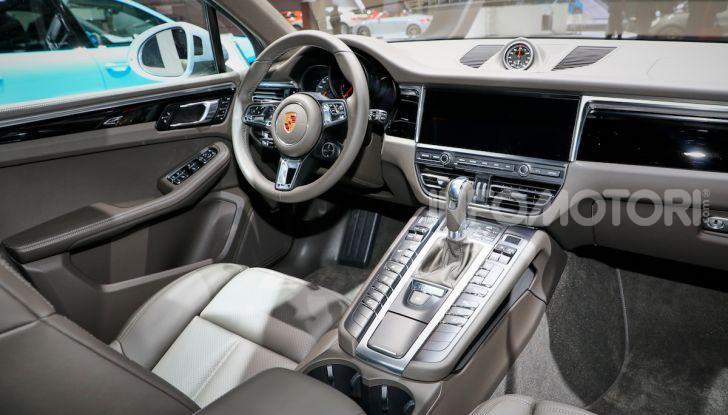 Porsche Macan 2019 arriva negli USA al Salone di Los Angeles - Foto 20 di 22