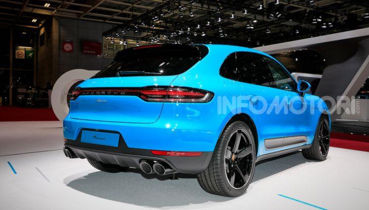 Porsche Macan 2019 arriva negli USA al Salone di Los Angeles - Foto 9 di 22
