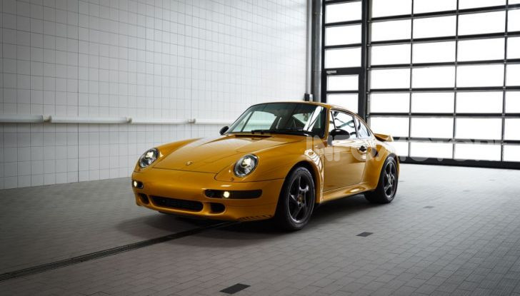 Porsche Project Gold 993 Turbo venduta a 3 milioni di dollari - Foto 1 di 7