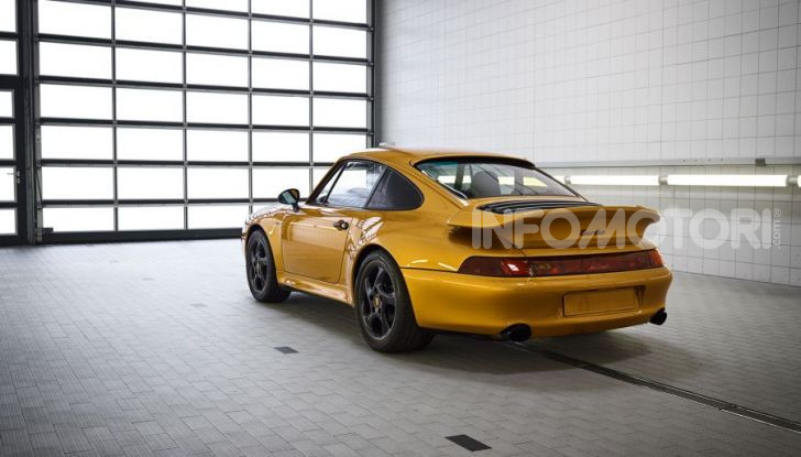 Porsche Project Gold 993 Turbo venduta a 3 milioni di dollari - Foto 2 di 7