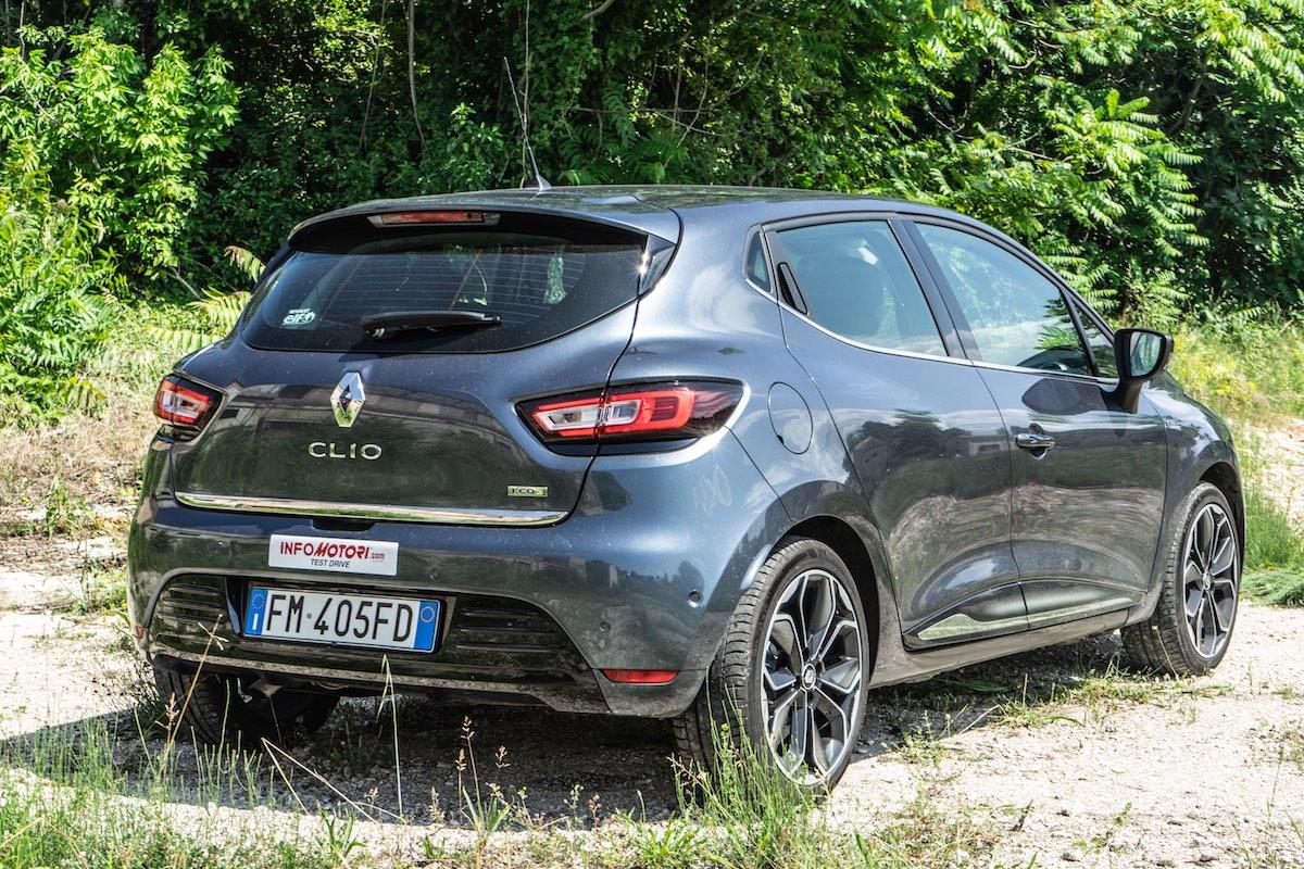 Renault Clio 2018 Posteriore