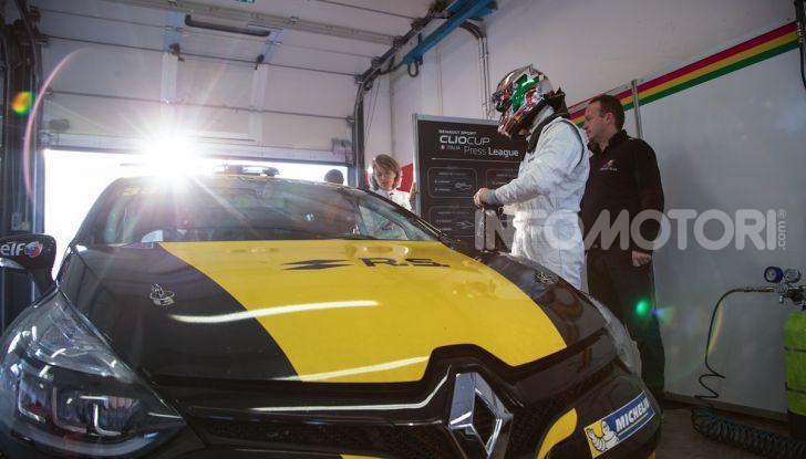 Clio Cup Press League 2018: il nostro weekend in pista a Misano - Foto 11 di 12